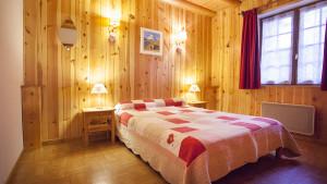Chambre double chalet Eterlou