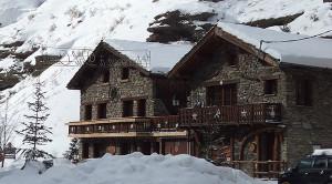 Le chalet Eterlou à Val Cenis en hiver